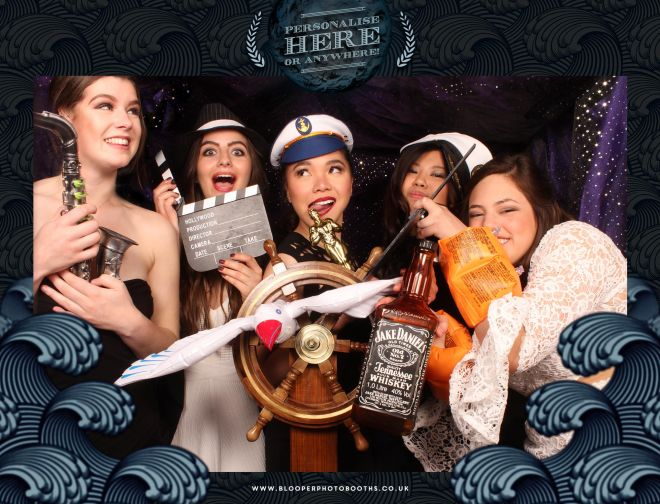 Seven seas themed photo booth